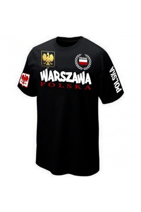 BOUTIQUE T-SHIRT POLSKA VARSOVIA