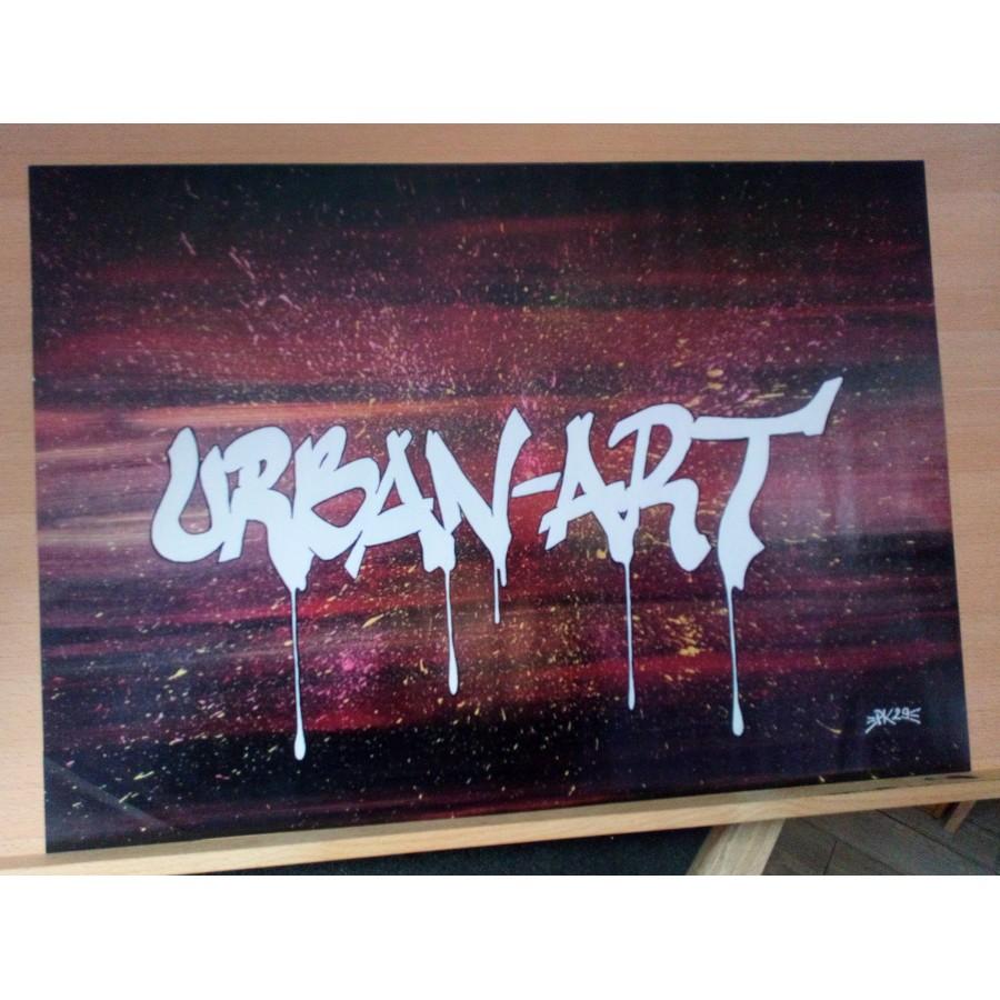 AFFICHE POSTER STREET ART GRAFFITI