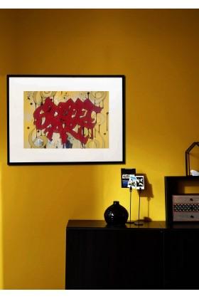 TABLEAU AFFICHE POSTER GRAFFITI STREET ART