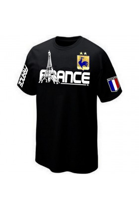 BOUTIQUE T-SHIRT FRANCE CHAMPION DU MONDE 2 ETOILES