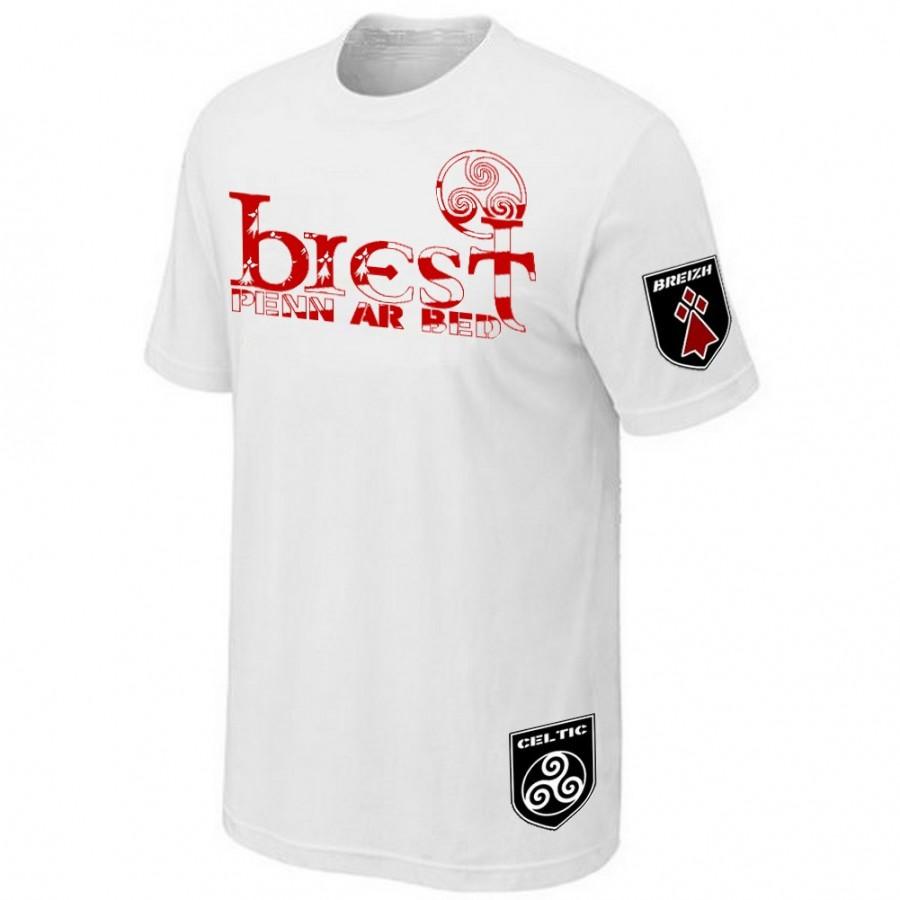 BOUTIQUE T-SHIRT BRETON - DRAPEAU BRETAGNE
