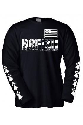 T-SHIRT BREST BRETAGNE MANCHES LONGUES
