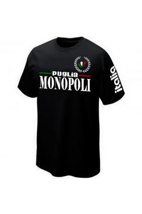 T-SHIRT ITALIA ITALIE MONOPOLI POUILLES