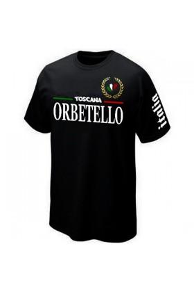 T-SHIRT ITALIA ITALIE OREBTELLO TOSCANA TOSCANE