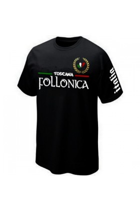 T-SHIRT ITALIA ITALIE FOLLONICA TOSCANE