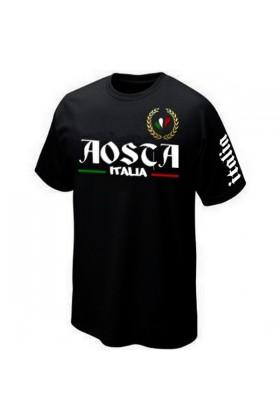 T-SHIRT ITALIA ITALIE AOSTA AOSTE