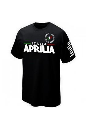 T-SHIRT ITALIE ITALIA APRILIA