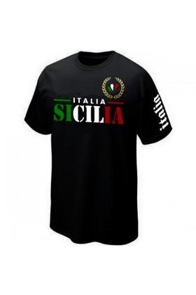 T-SHIRT ITALIE ITALIA SICILE