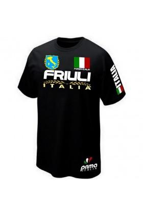 T-SHIRT ITALIE ITALIA FRIOUL FRIULI