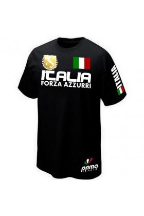 T-SHIRT ITALIE FORZA AZZURRI