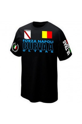 T-SHIRT ITALIE ULTRAS NAPOLI CURVA A