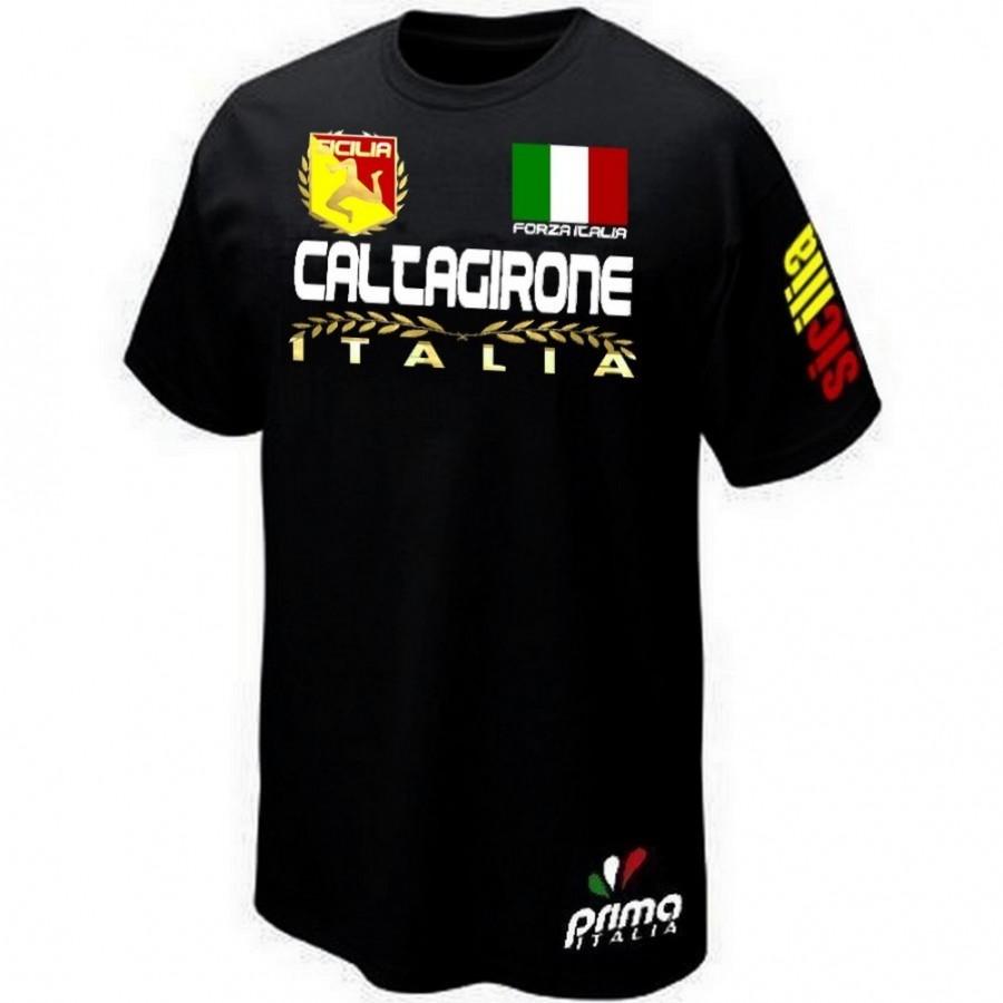 T-SHIRT SICILE ITALIE CALTAGIRONE