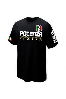 T-SHIRT BASILICATE ITALIE POTENZA