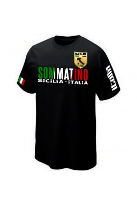 T-SHIRT ITALIE SICILE SOMMATINO