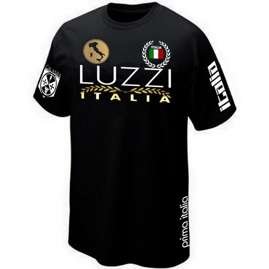 T-SHIRT ITALIA CALABRIA CALABRE LUZZI