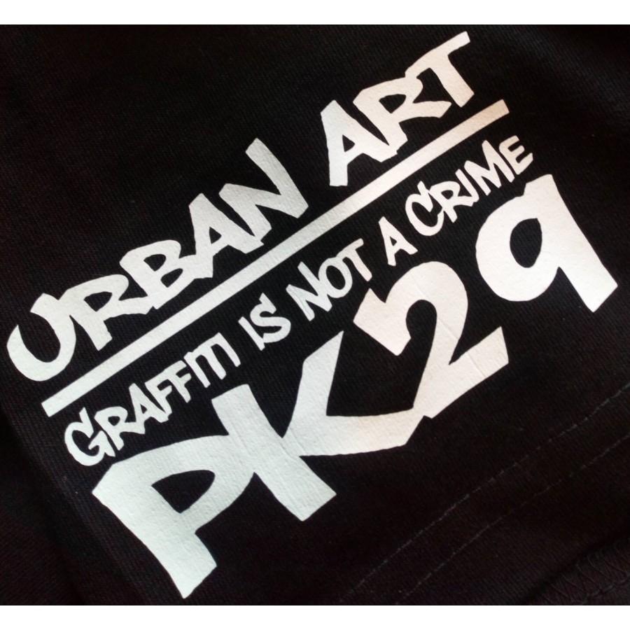T-SHIRT GRAFFITI IS NOT A CRIME PK29 STREET ART