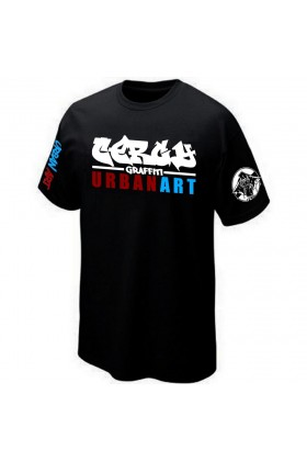 T-SHIRT STREET-ART GRAFFITI URBAN-ART GRAFF PK29 CERGY PONTOISE
