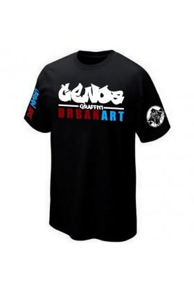 T-SHIRT STREET-ART GRAFFITI URBAN-ART GRAFF PK29 GENOA GENES ITALIA