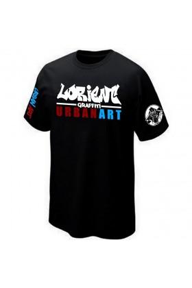 T-SHIRT STREET-ART GRAFFITI URBAN-ART GRAFF PK29 LORIENT