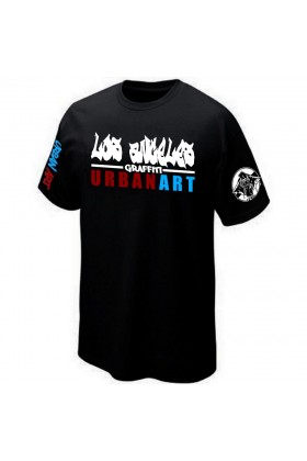 T-SHIRT STREET-ART GRAFFITI URBAN-ART GRAFF PK29 LOS ANGELES