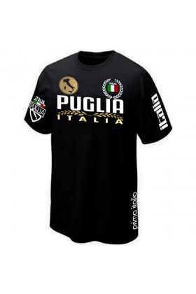 T-SHIRT PUGLIA POUILLES ITALIA ITALIE
