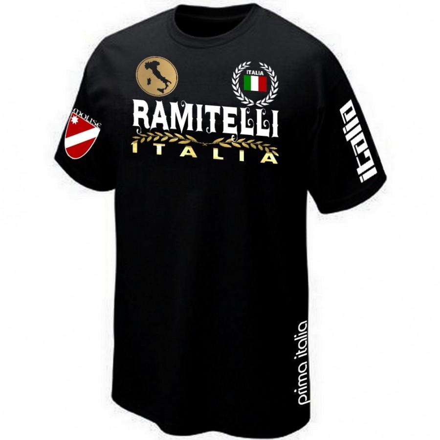 T-SHIRT ITALIA MOLISE ITALIE RAMITELLI