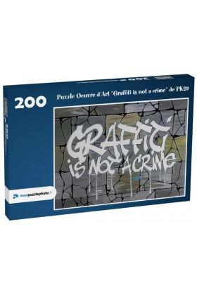PUZZLE GRAFFITI IS NOT A CRIME PK29