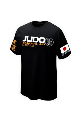 T-SHIRT JUDO MARTIAL-ART
