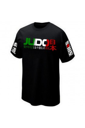 T-SHIRT JUDO ITALIA SPORT COMBAT