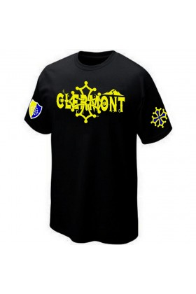 T-SHIRT RUGBY CLERMONT SUPPORTER AUVERGNE
