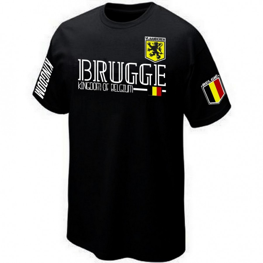 T-SHIRT BELGIQUE FLAMAND BRUGES