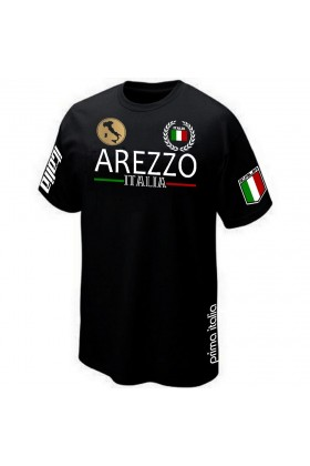 T-SHIRT ITALIE TOSCANE AREZZO