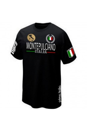 T-SHIRT ITALIE TOSCANE MONTEPULCIANO