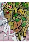 TOILE PEINTURE CONFINEMENT ARTISTE STREET ART