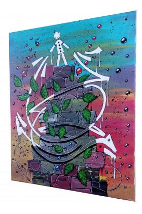TOILE PEINTURE STREET ART