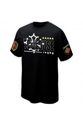 T-SHIRT TOULOUSE RUGBY