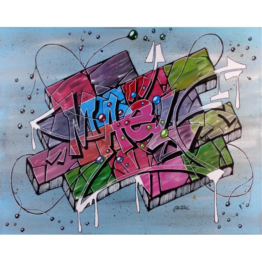 GRAFFITI PERSONNALISé