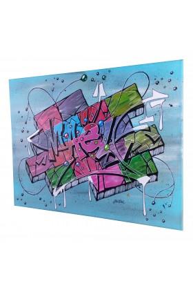 TOILE GRAFFITI PERSONNALISé